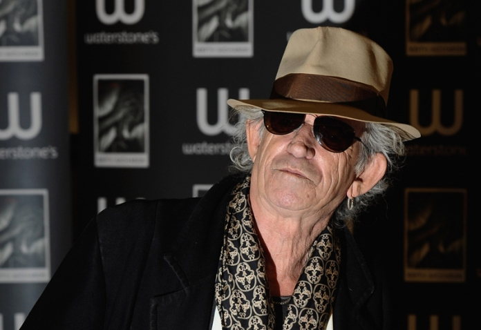 Keith Richards Signs Copies Of His Book 'Life'