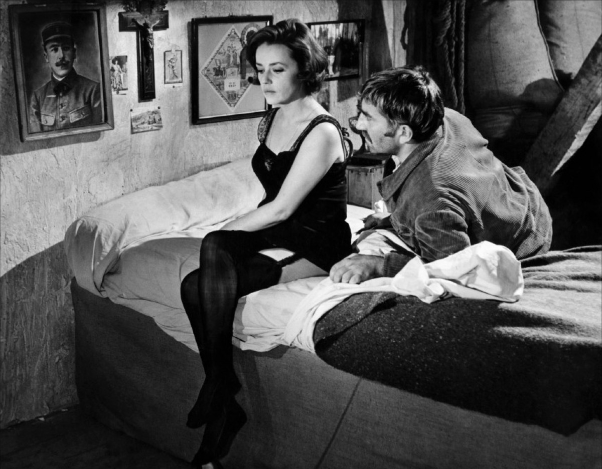Jeanne moreau men 39 s style through a feminine perspective for Chambre 13 film