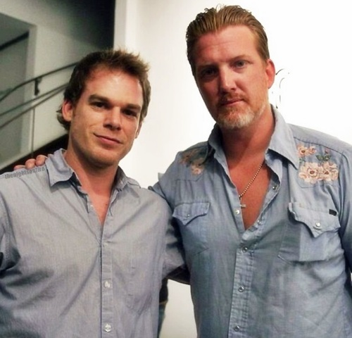 Michael C. Hall Josh Homme